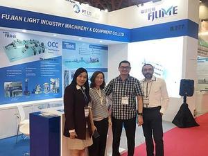 参展2019印尼国际纸业展